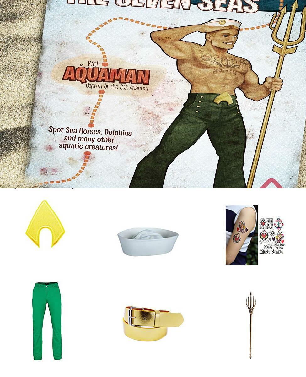 Bombshell Aquaman Cosplay Guide