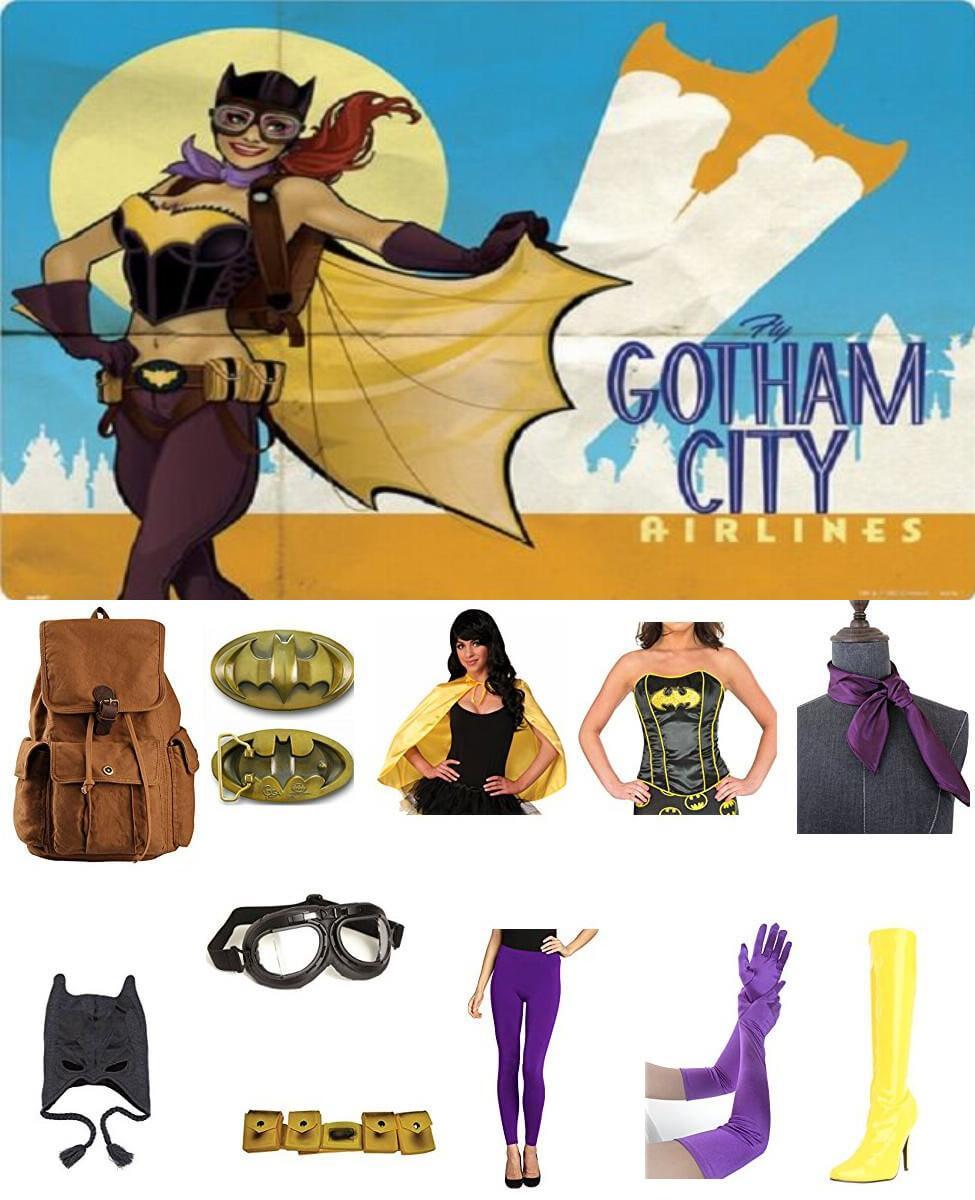 Bombshell Batgirl Cosplay Guide