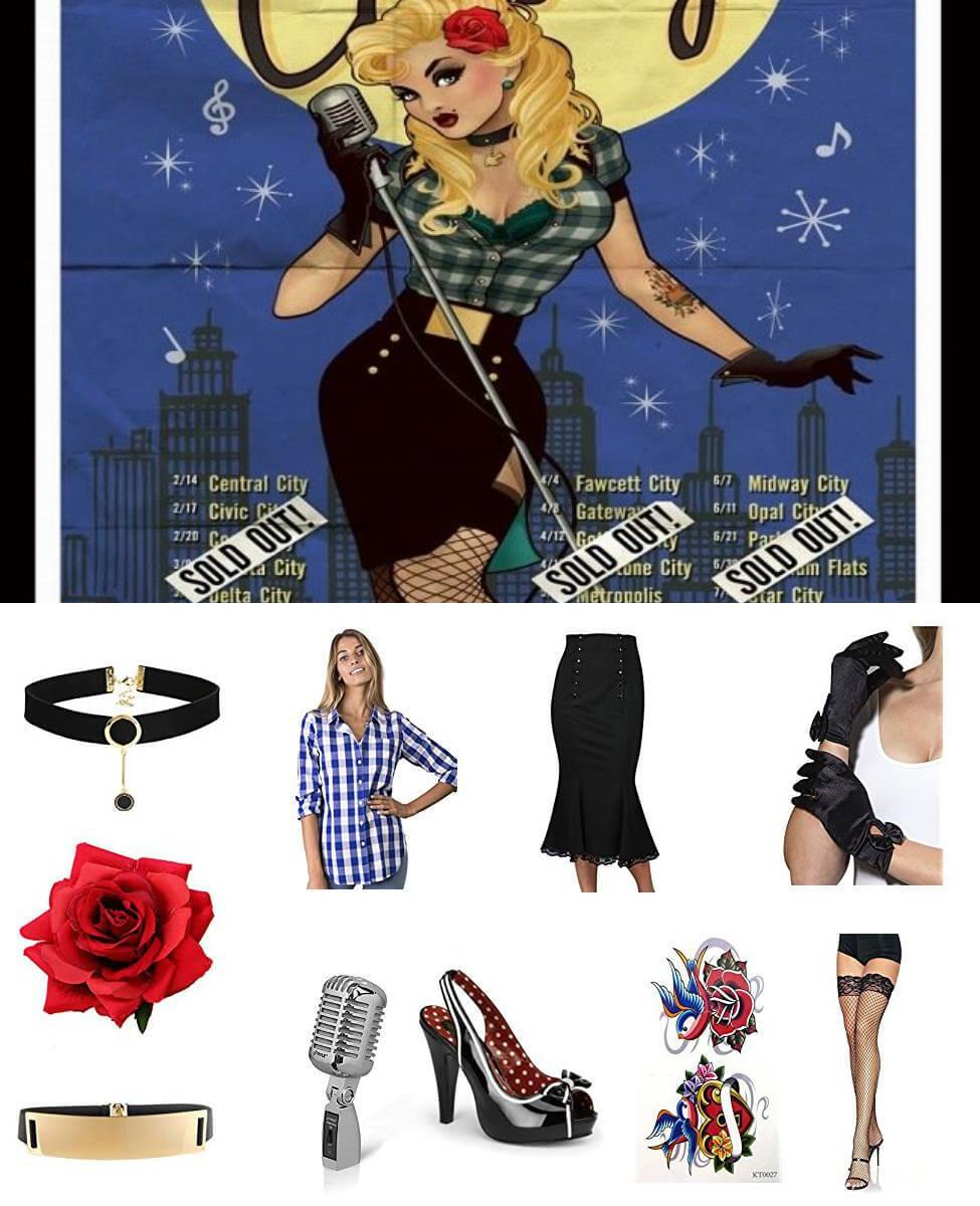 Bombshell Black Canary Cosplay Guide