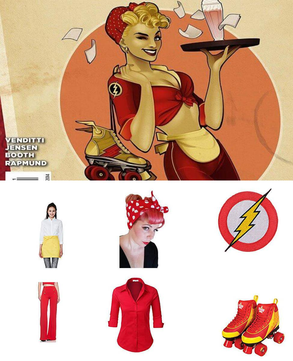 Bombshell Jesse Quick Cosplay Guide