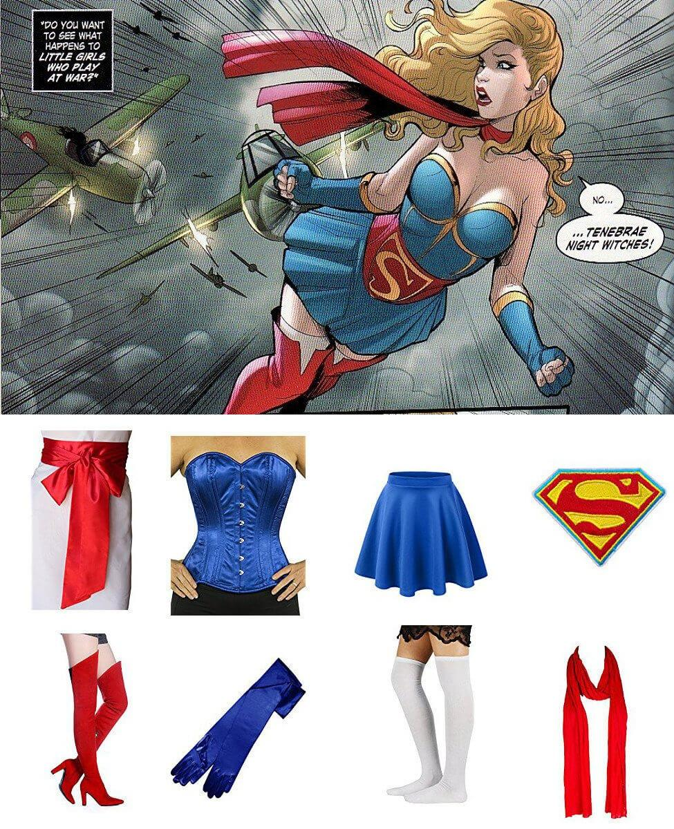 Bombshell Supergirl Cosplay Guide