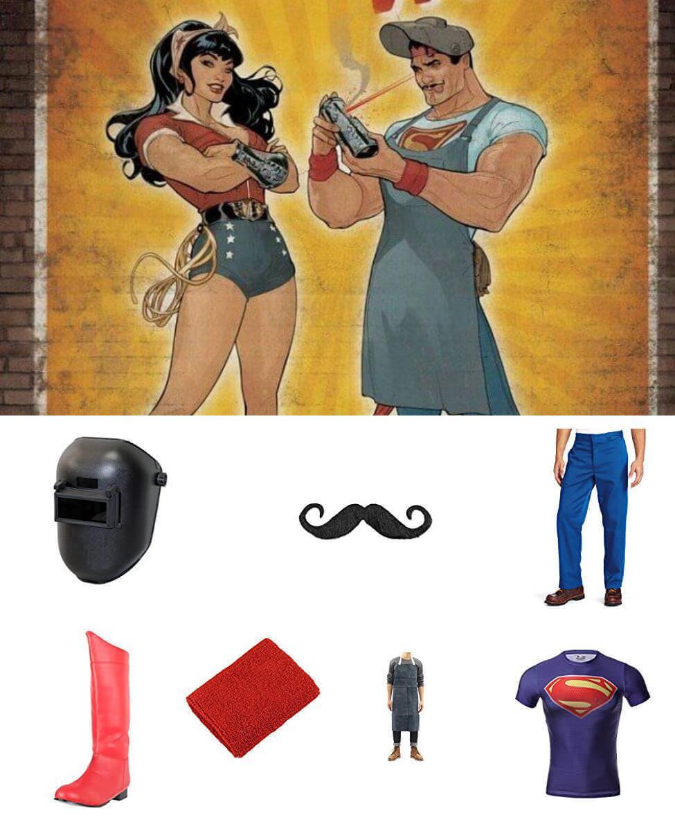 Bombshell Superman Cosplay Guide