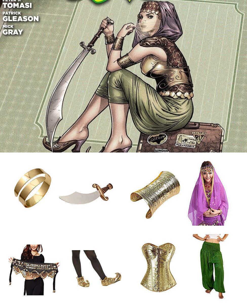 Bombshell Talia al Ghul Cosplay Guide