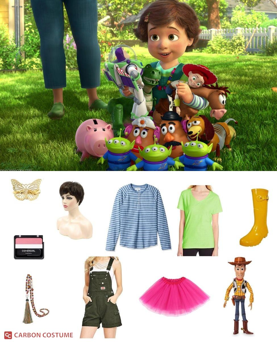 Bonnie Anderson from Toy Story 3 Cosplay Guide