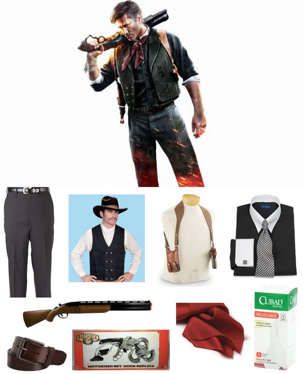 Booker DeWitt Cosplay Guide