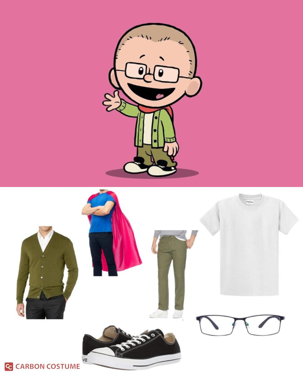Brad Meltzer from Xavier Riddle and the Secret Museum Cosplay Guide
