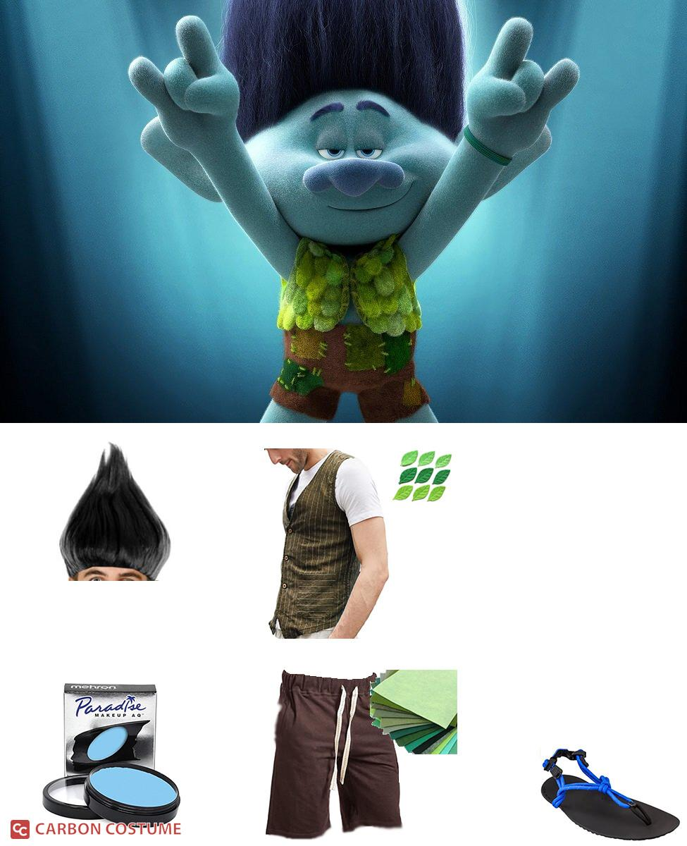 Branch from Trolls World Tour Cosplay Guide