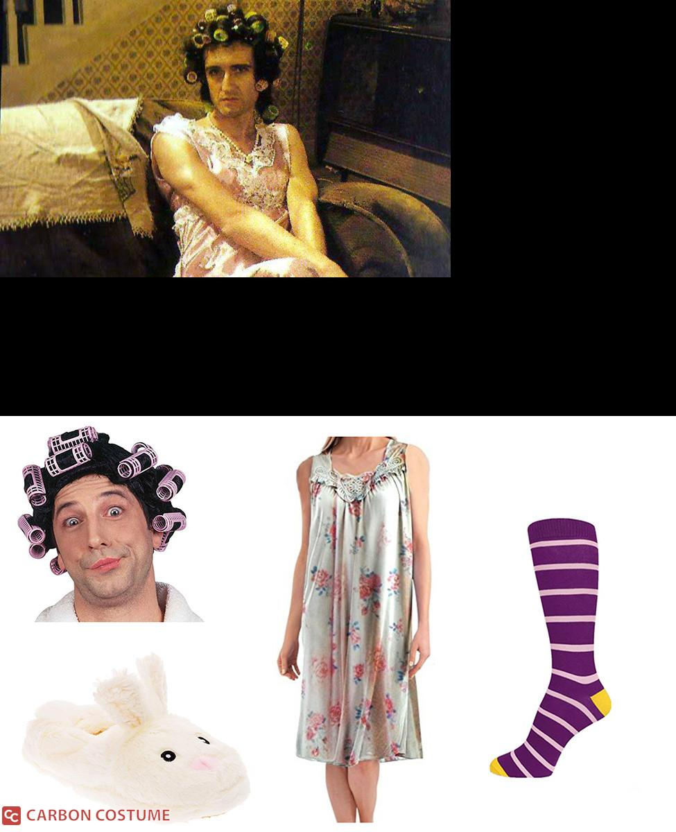 """Brian May as Hilda Ogden  from """"I Want To Break Free"""" Cosplay Guide"""