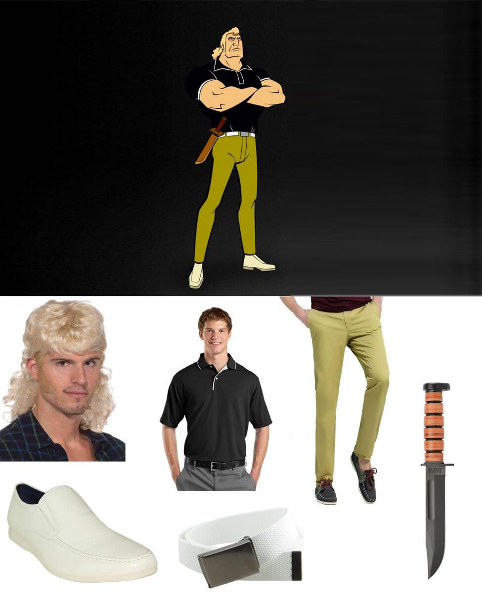 Brock Samson Cosplay Guide