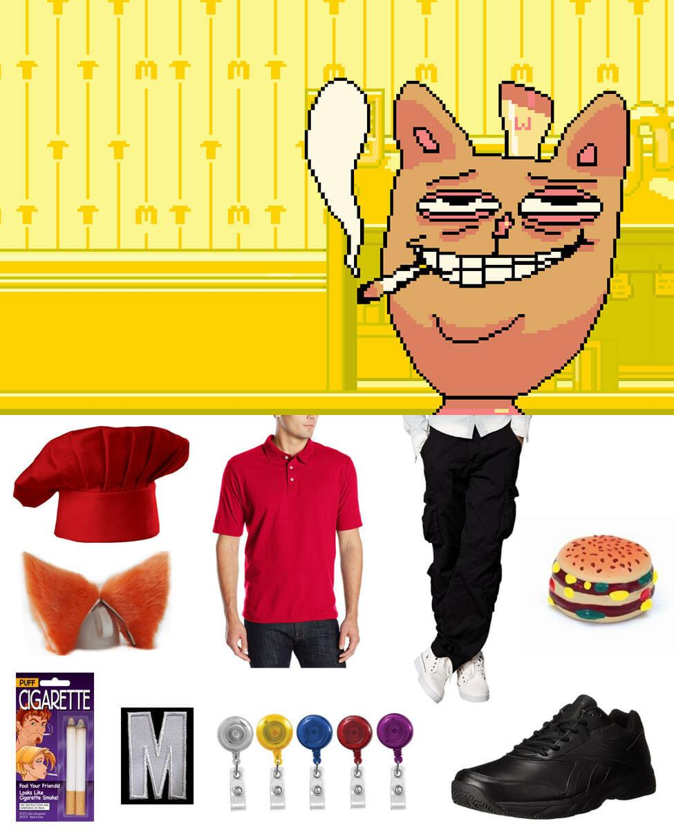 Burgerpants Cosplay Guide