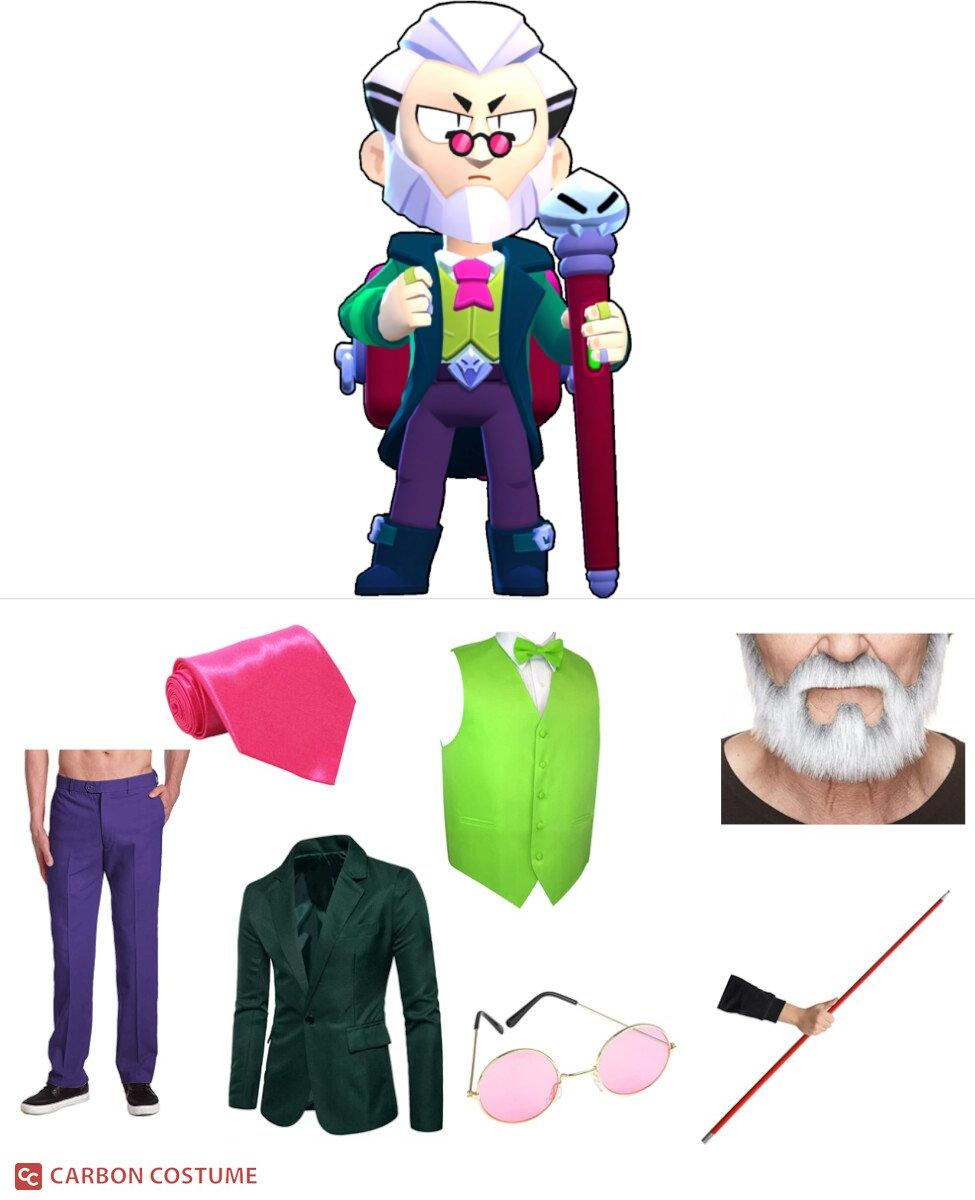 Byron from Brawl Stars Cosplay Guide