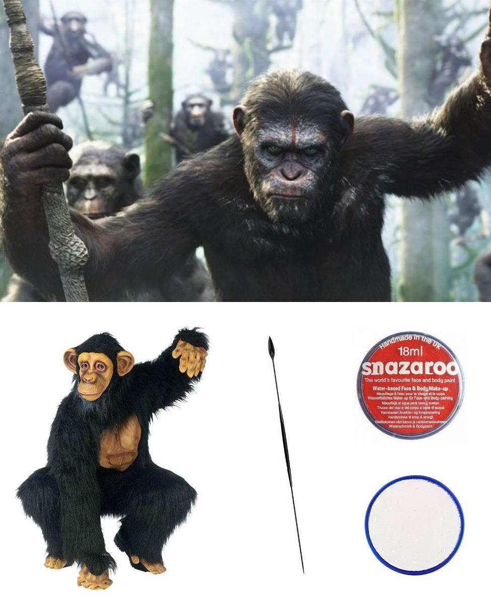 Caesar from Dawn of the Planet of the Apes Cosplay Guide