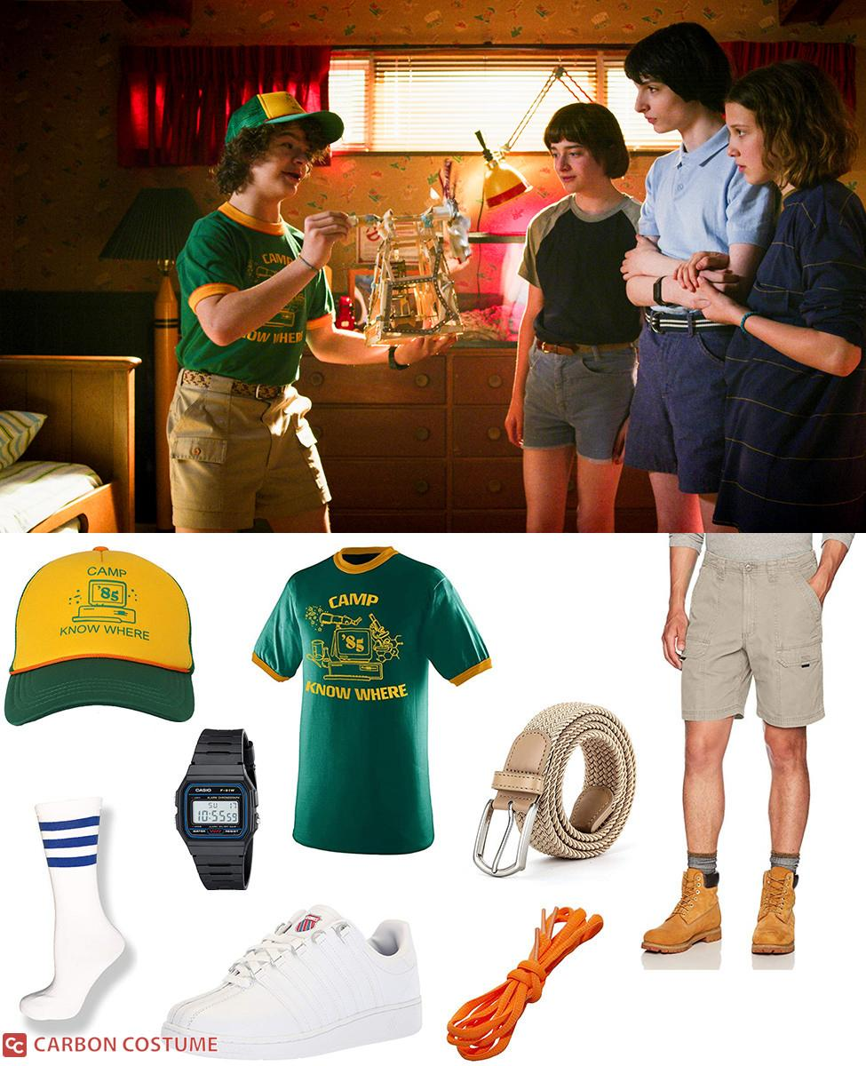 """""""Camp Know Where"""" Dustin Henderson from Stranger Things 3 Cosplay Guide"""