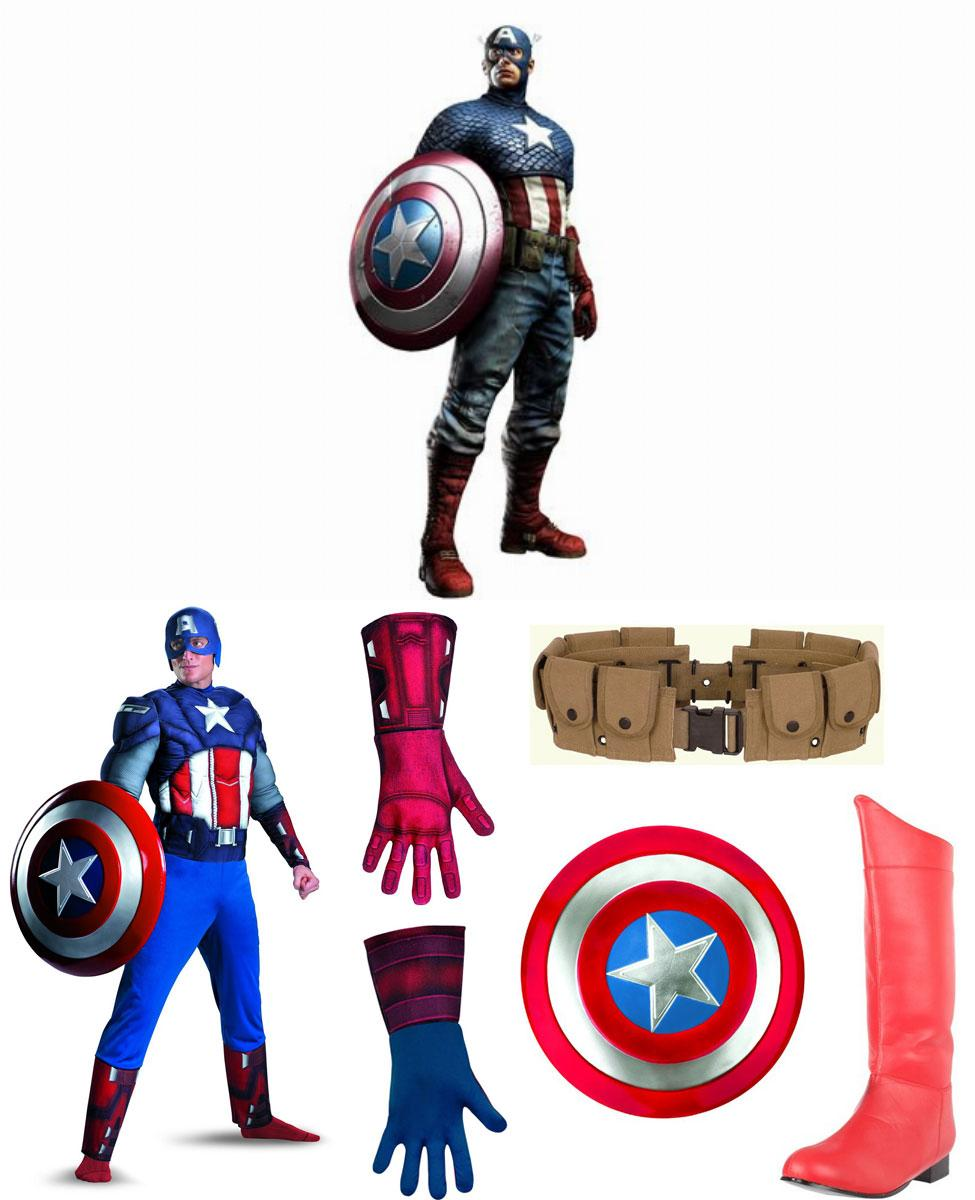 Captain America Cosplay Guide
