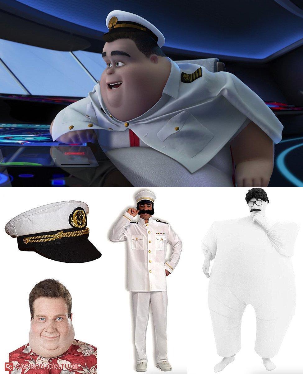 Captain B. McCrea from Wall-E Cosplay Guide