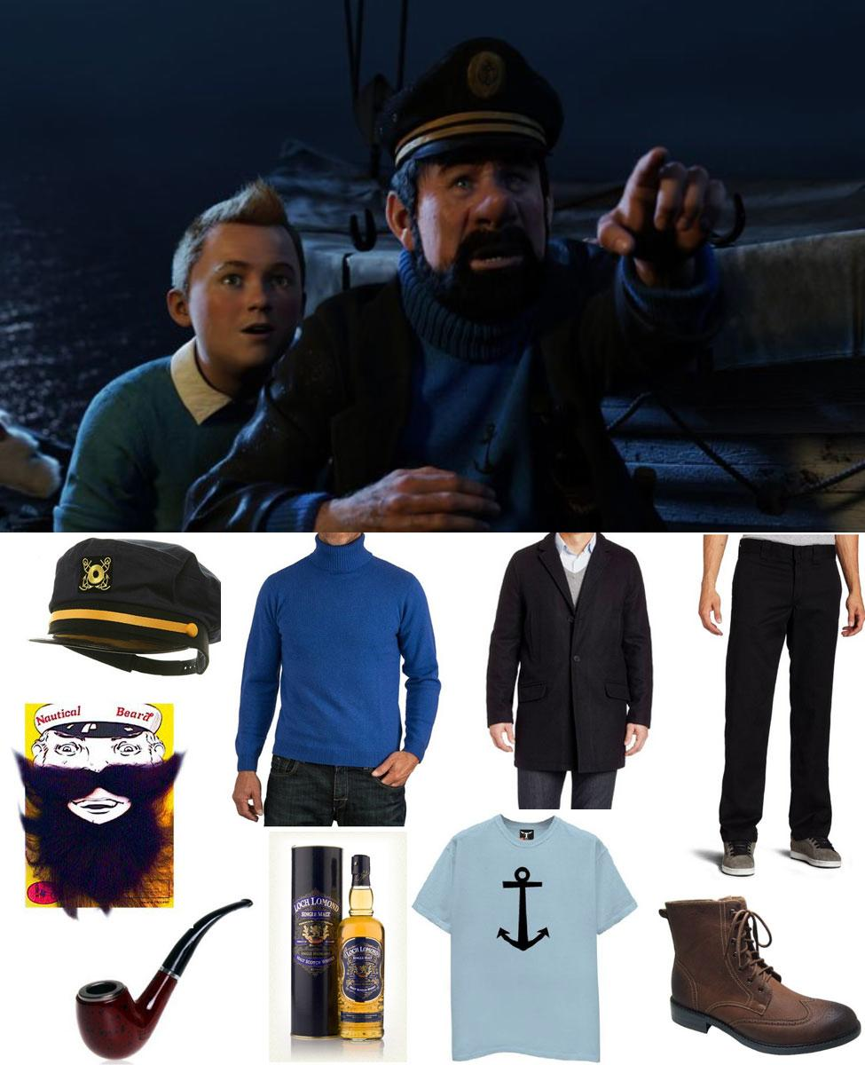 Captain Haddock Cosplay Guide