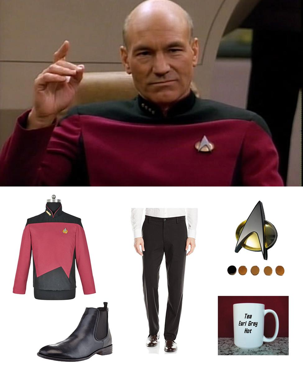 Captain Jean-Luc Picard Cosplay Guide