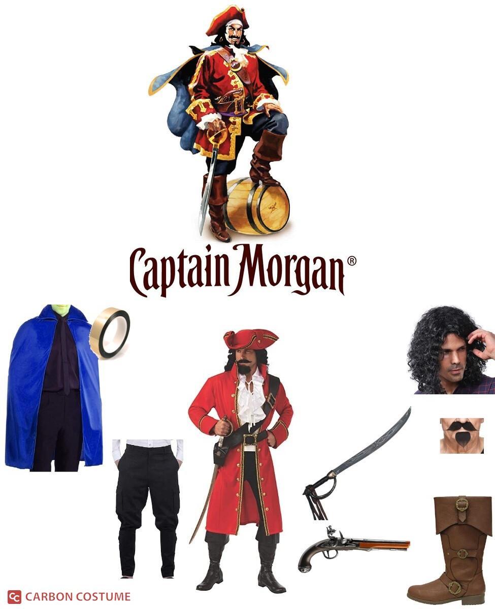 Captain Morgan Cosplay Guide