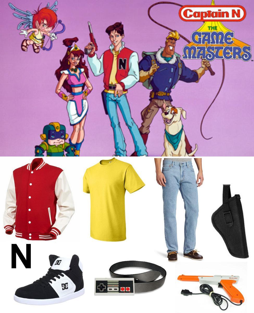 Captain N Cosplay Guide