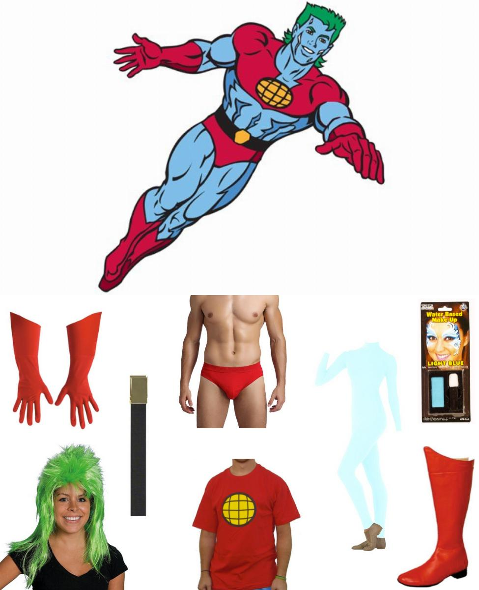 Captain Planet Cosplay Guide