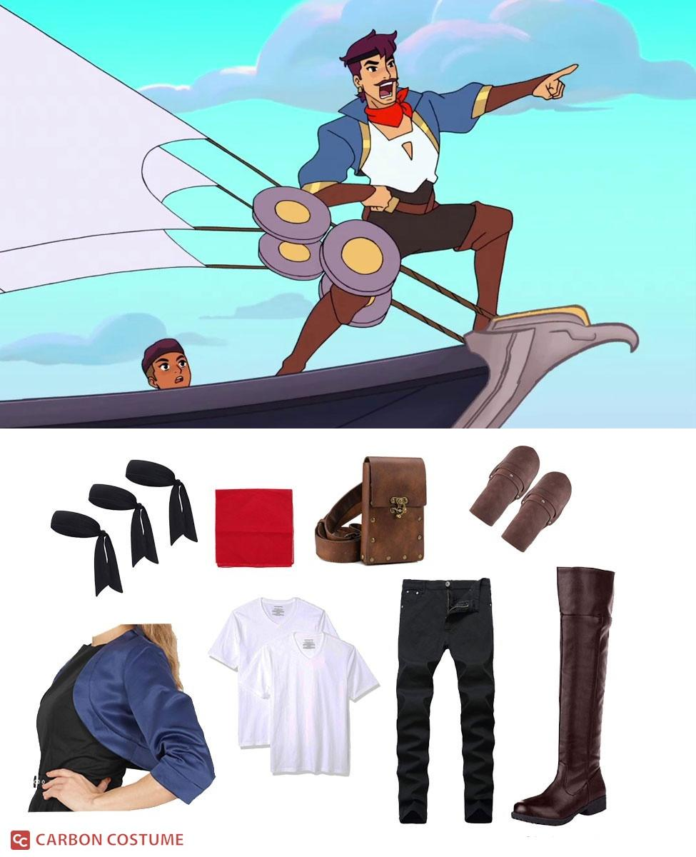 Captain Sea Hawk from She-Ra and The Princesses of Power Cosplay Guide