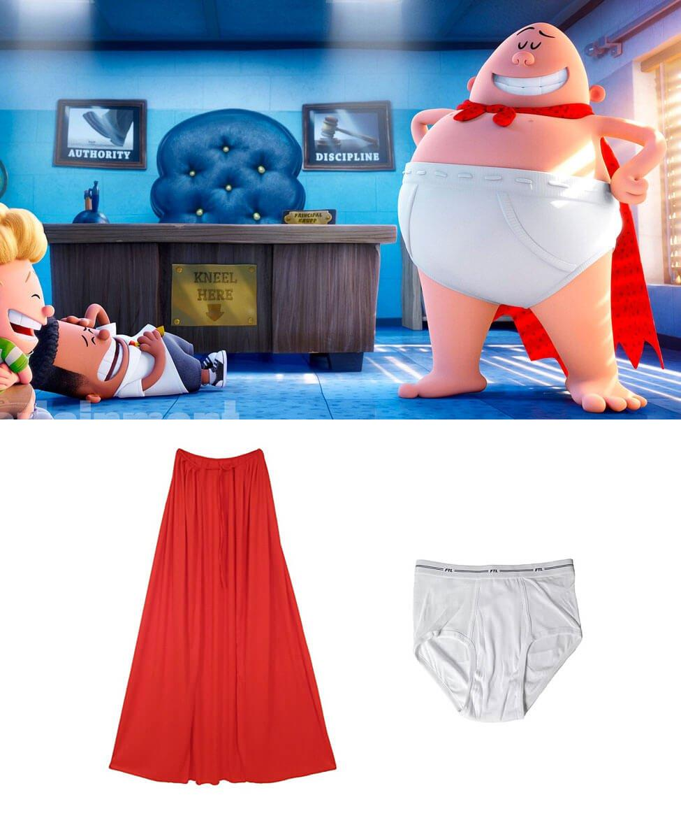Captain Underpants Cosplay Guide