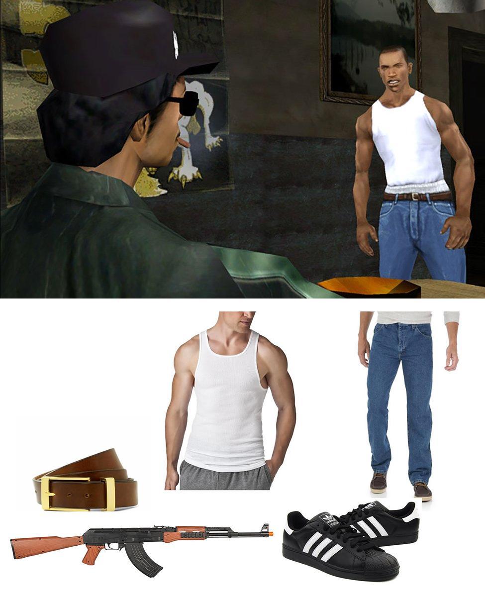 "Carl ""CJ"" Johnson Cosplay Guide"