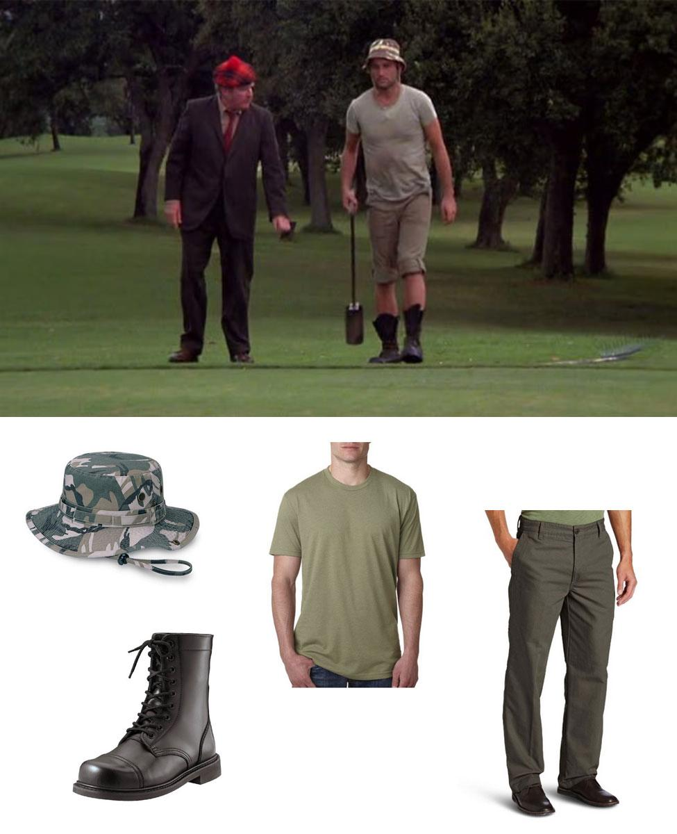 Carl Spackler from Caddyshack Cosplay Guide