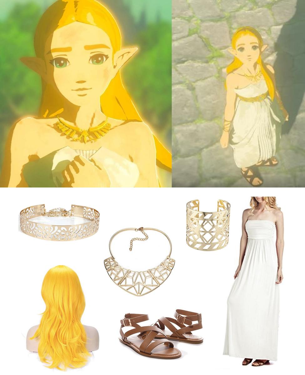 Ceremonial Princess Zelda from Breath of the Wild Cosplay Guide
