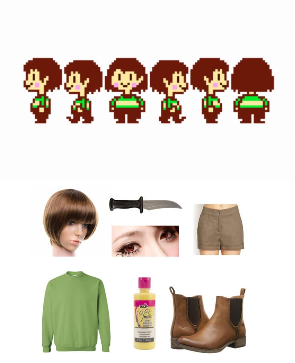 Chara from Undertale Cosplay Guide
