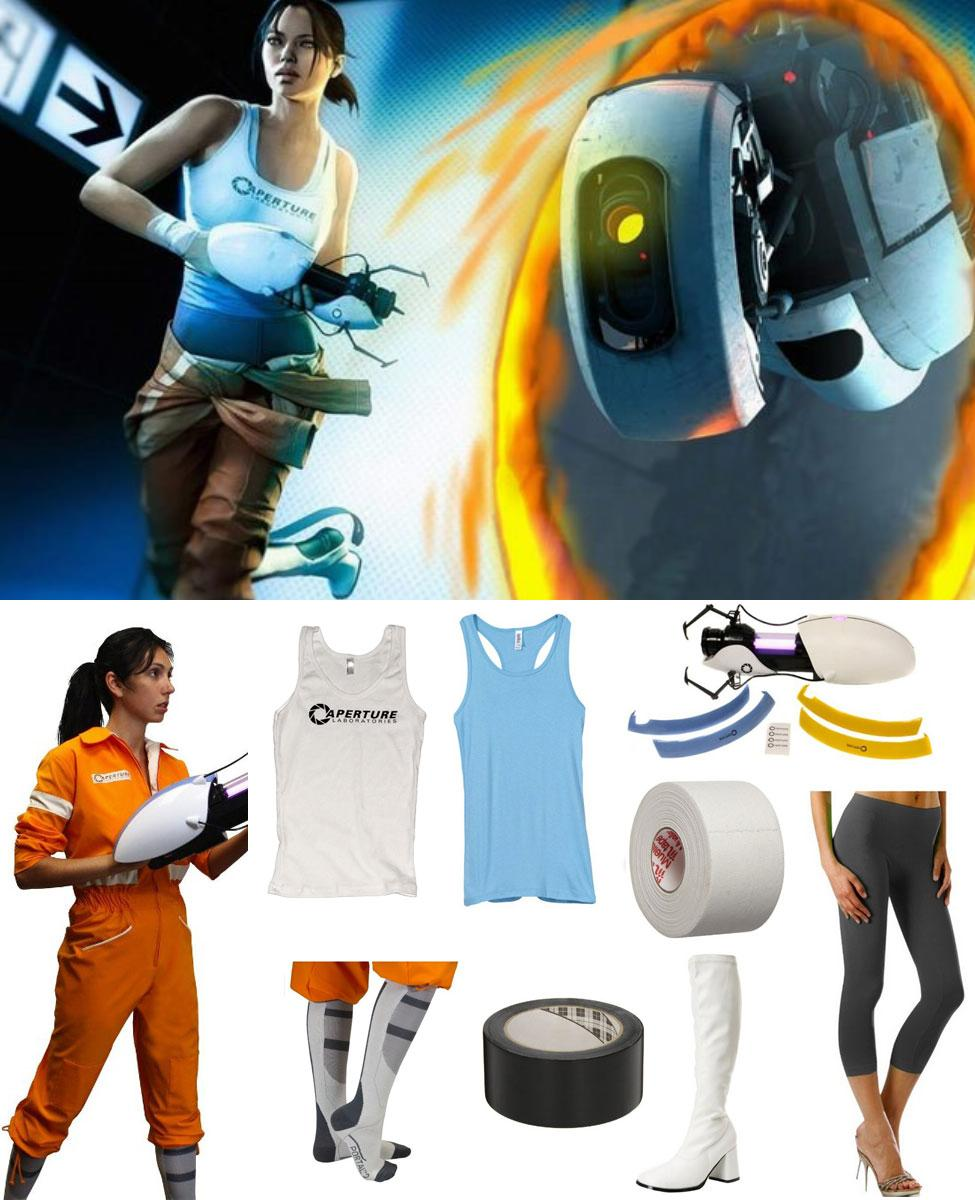 Chell from Portal Cosplay Guide