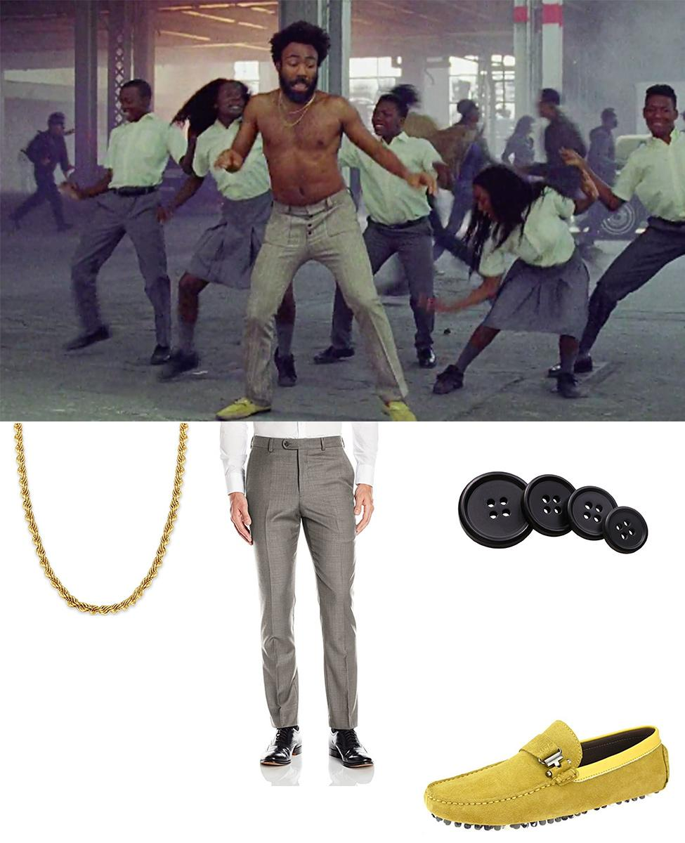 Childish Gambino from This Is America Cosplay Guide