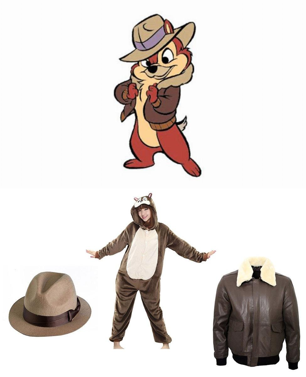 Chip from Chip 'n Dale: Rescue Rangers Cosplay Guide