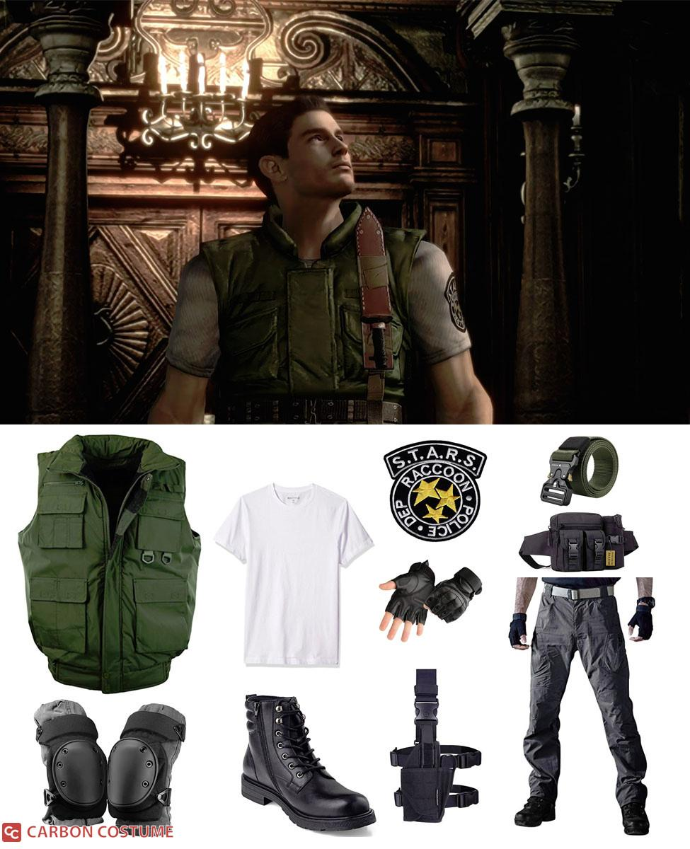 Chris Redfield from Resident Evil 1 Cosplay Guide