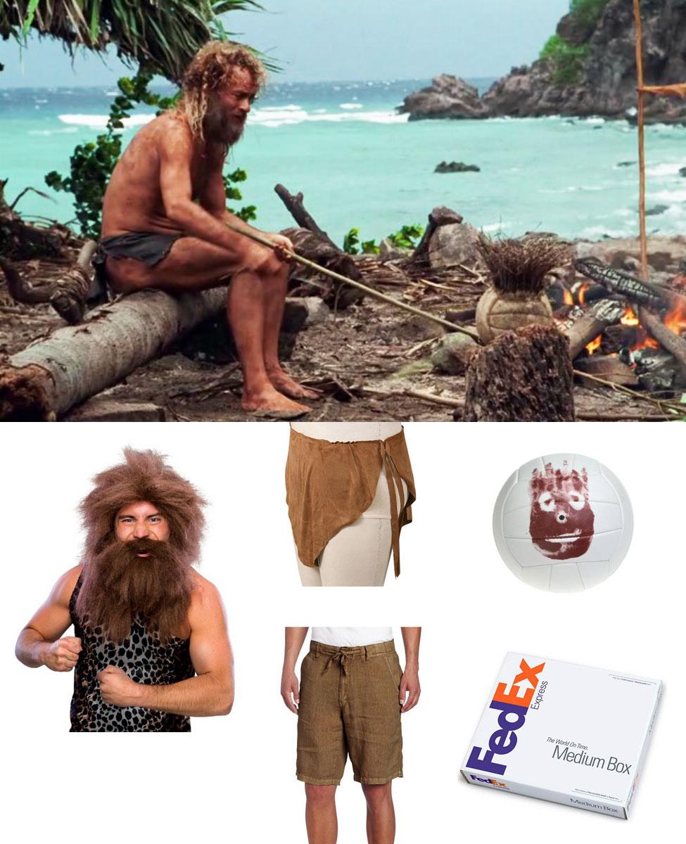 Chuck Noland in Cast Away Cosplay Guide