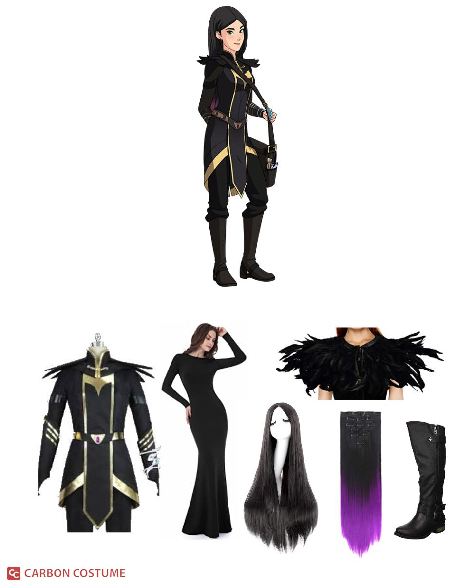 Claudia from The Dragon Prince Cosplay Guide