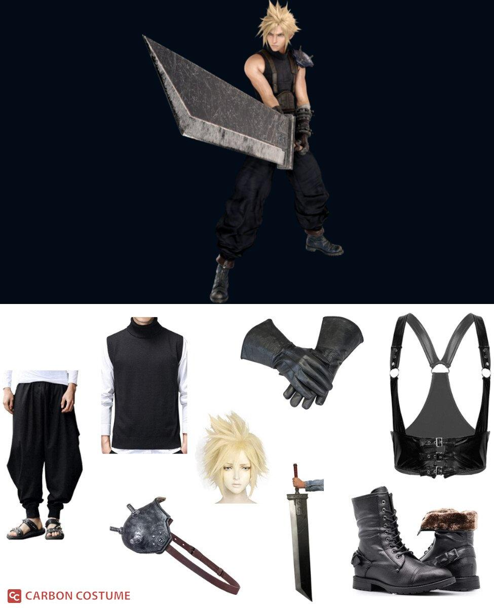 Cloud Strife from Final Fantasy VII Cosplay Guide