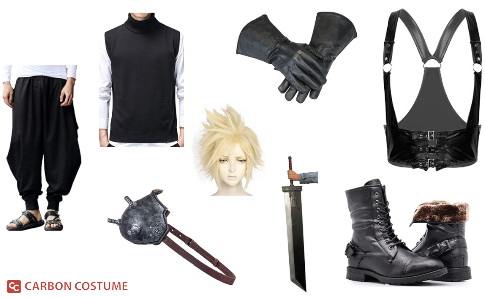 Cloud Strife from Final Fantasy VII Costume