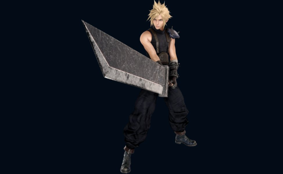 Cloud Strife from Final Fantasy VII