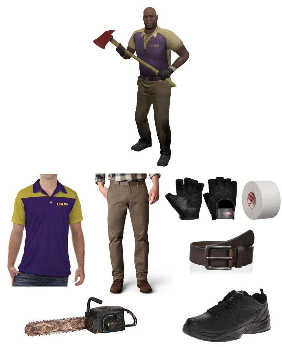 Coach from Left 4 Dead 2 Cosplay Guide