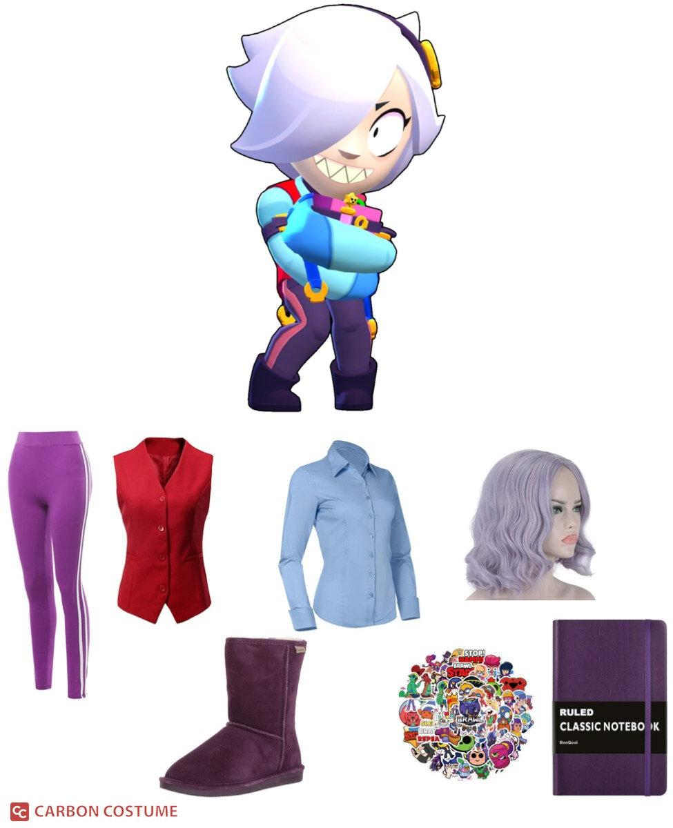 Colette from Brawl Stars Cosplay Guide