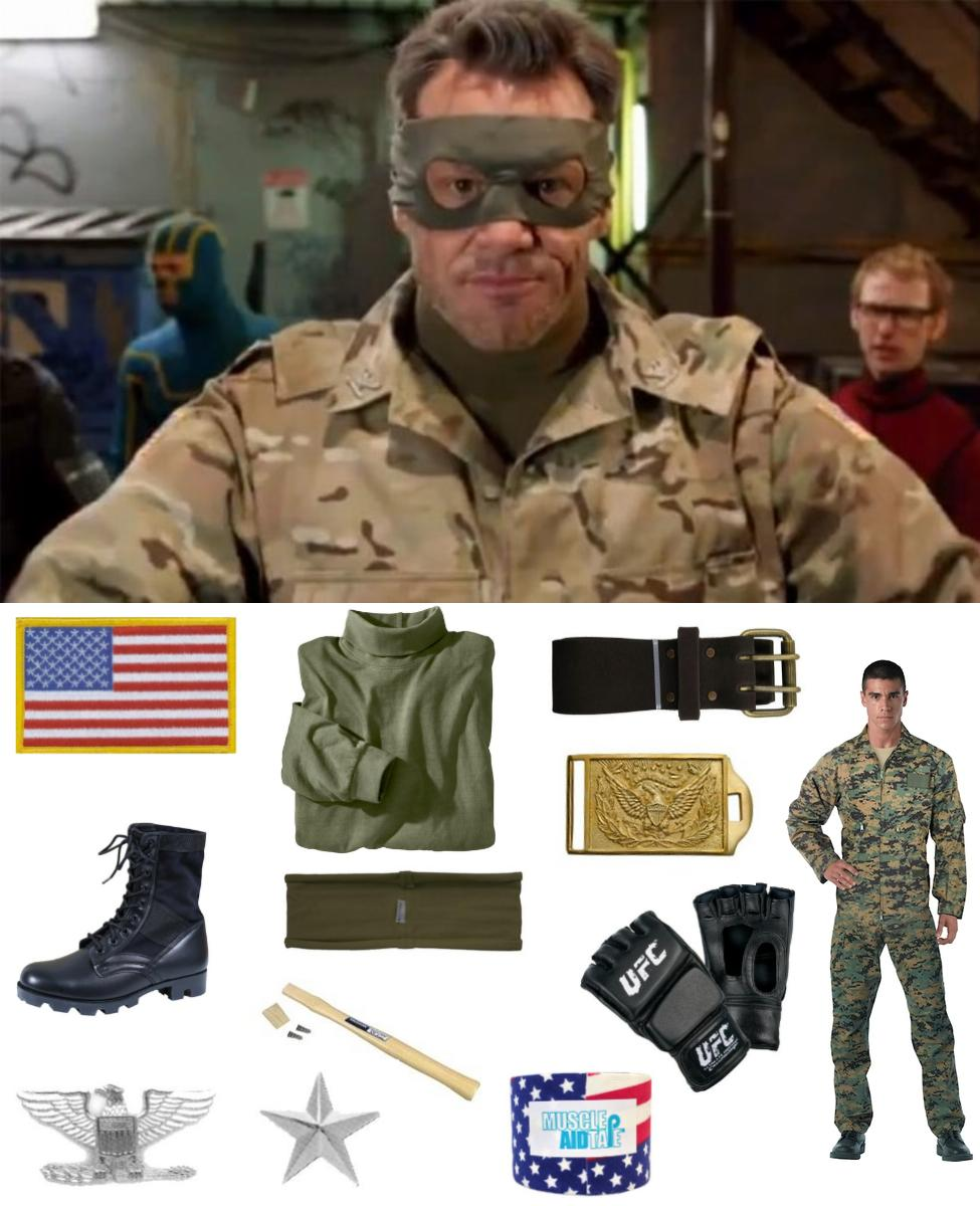 Colonel Stars and Stripes Cosplay Guide