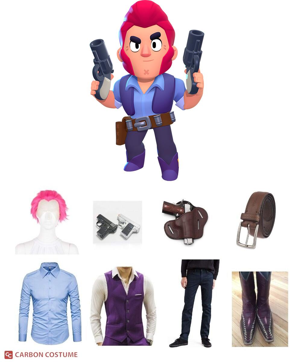 Colt from Brawl Stars Cosplay Guide