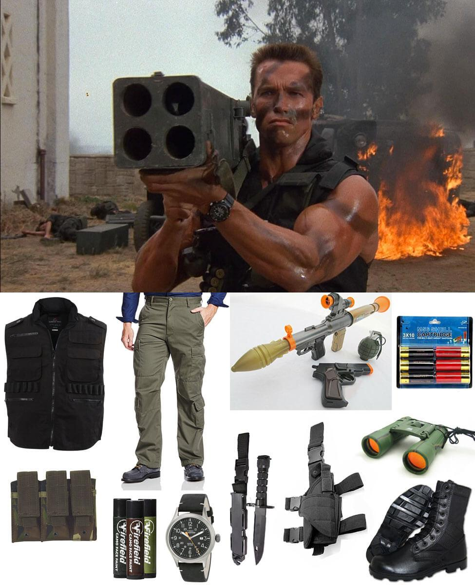 Commando John Matrix Cosplay Guide