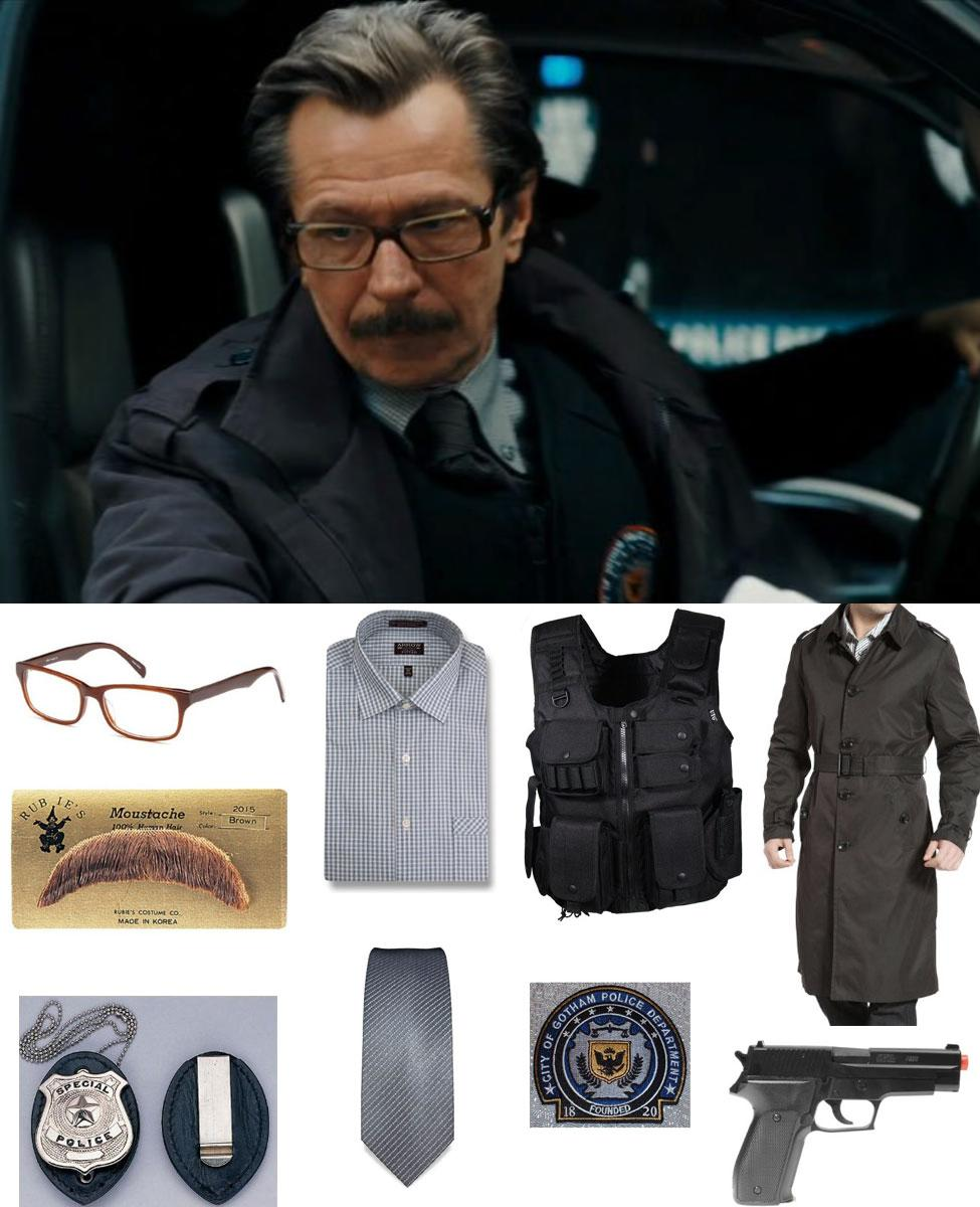 Commissioner Gordon Cosplay Guide