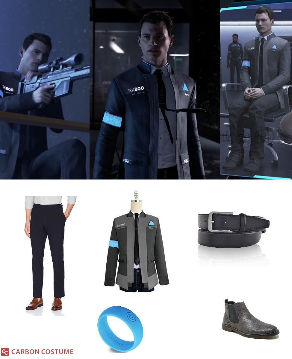Connor from Detroit: Become Human Cosplay Guide