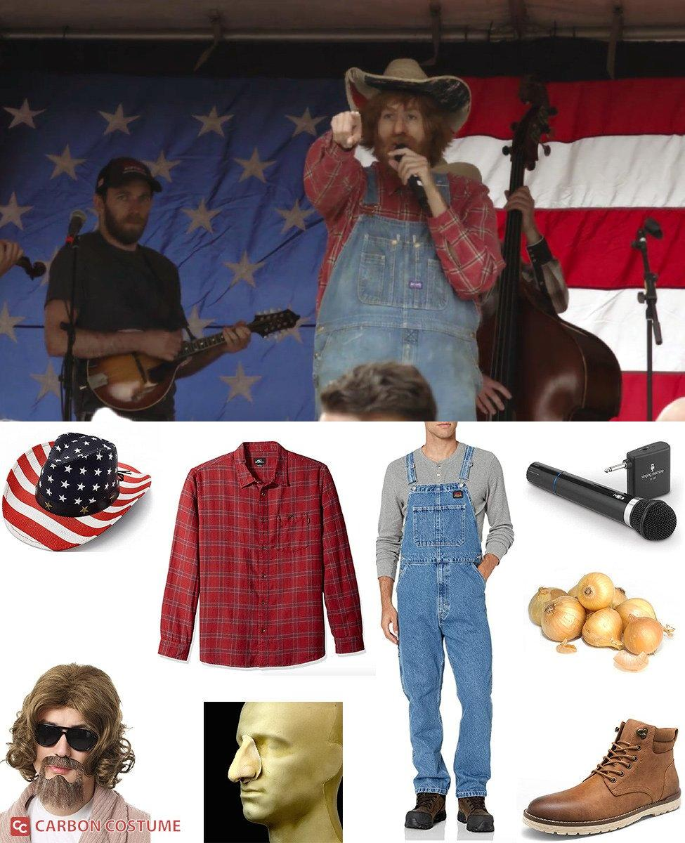 Country Steve from Borat 2 Cosplay Guide
