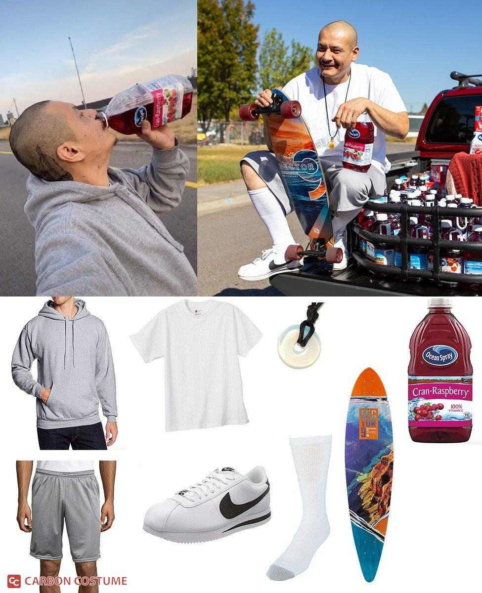 Cranberry Juice Skateboarder Cosplay Guide