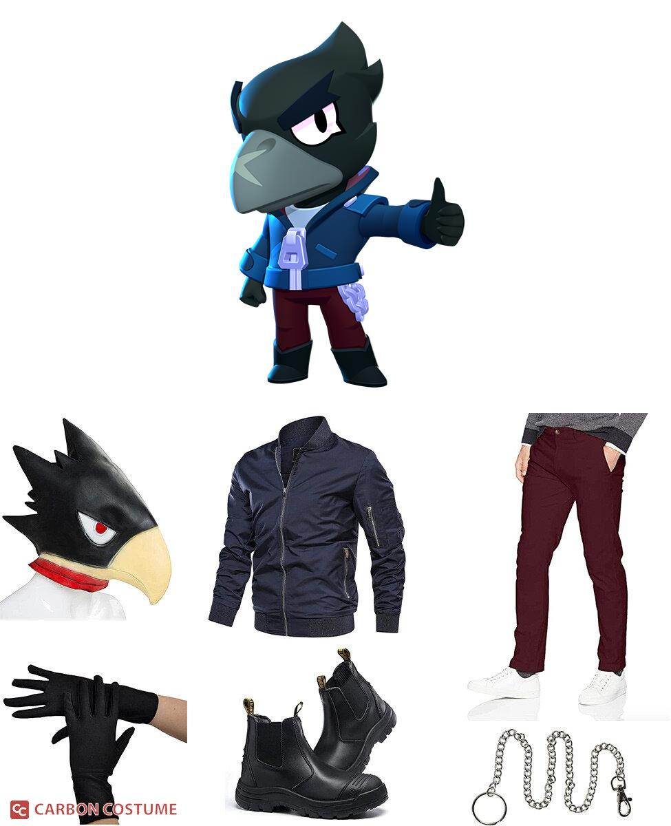 Crow from Brawl Stars Cosplay Guide
