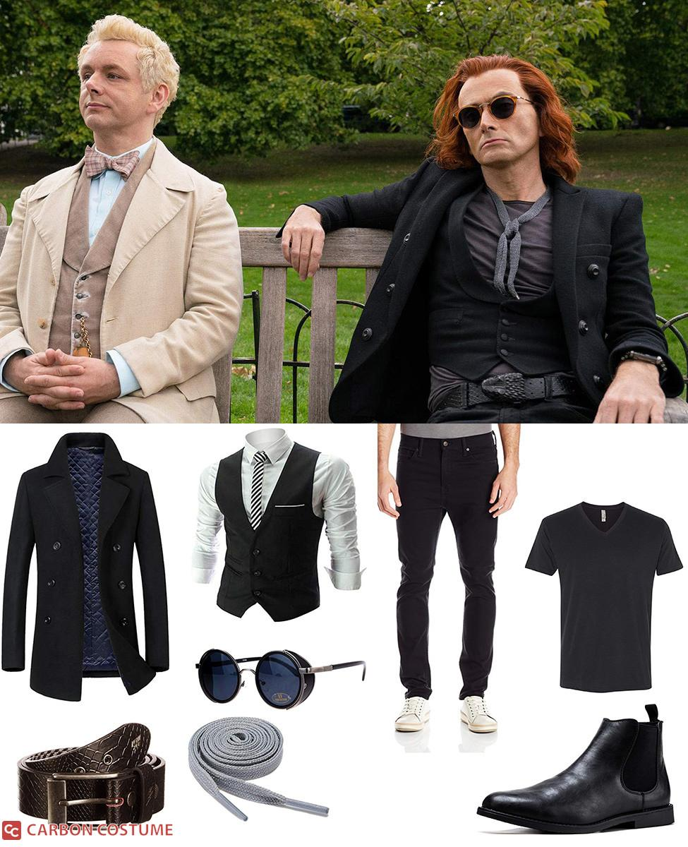 Crowley from Good Omens Cosplay Guide